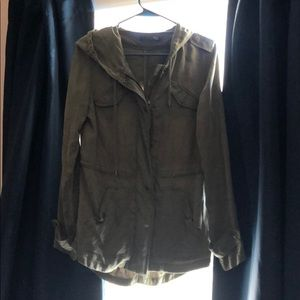 Max jeans green utility jacket
